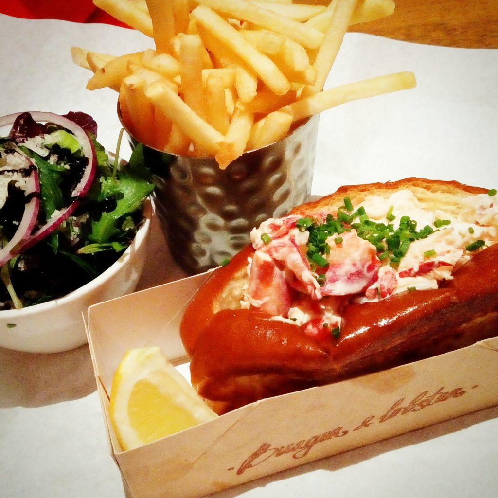Dear Lobster Roll, oh how I have missed you!!